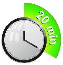 مهمترین بیست دقیقه روزتان را پیدا کنید