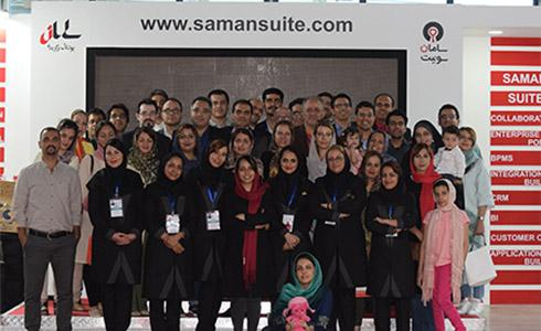 همکاران پرتلاش سامان در روزهای برپایی الکامپ 96